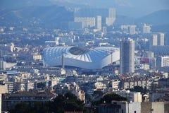 Estádio de Marselha imagem de stock royalty free
