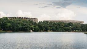 Estádio de Mineirao em Belo Horizonte, Brasil Imagens de Stock