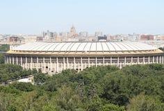 Estádio de Moscovo Luzhniki Imagem de Stock Royalty Free