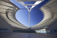 Estádio de Moses Mabhida, FIFA, copo de mundo 2010   Foto de Stock Royalty Free