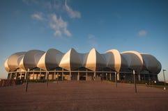 Estádio de Nelson.Mandela, Porth Elizabeth fotografia de stock