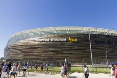 Estádio de Optus na Austrália Ocidental Imagens de Stock Royalty Free