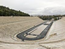 Estádio de Panathenaic em Atenas, Grécia fotos de stock