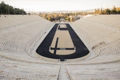 Estádio de Panathenaic em Atenas, Grécia Foto de Stock
