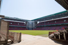 Estádio de Parken em Copenhaga Fotografia de Stock