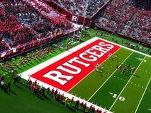 Estádio de Rutgers Foto de Stock