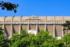 Estádio de Santiago Bernabeu do Real Madrid de FC, Espanha imagem de stock royalty free