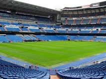 Estádio de Santiago Bernabeu de Real Madrid fotos de stock