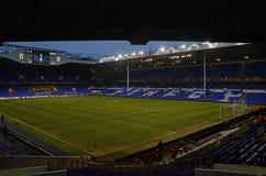 Estádio de Tottenham - Hart Lane branco Fotografia de Stock Royalty Free