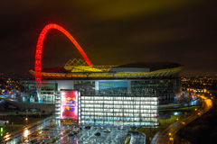 Estádio de Wembley imagem de stock royalty free