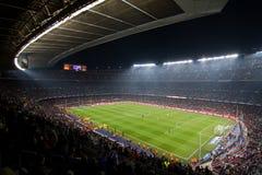 Estádio do acampamento de Nou (Barcelona) Fotografia de Stock Royalty Free