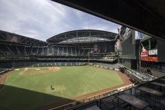 Estádio do campo da perseguição dos Arizona Diamondbacks fotos de stock royalty free