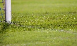 Estádio do campo de futebol do futebol Fotografia de Stock