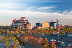 Estádio do campo de LP em Nashville Imagens de Stock Royalty Free