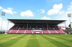 Estádio do clube do futebol de CFR Cluj Napoca imagem de stock royalty free