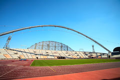 Estádio do esporte de Khalifa Fotografia de Stock Royalty Free
