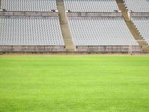 Estádio do futebol Foto de Stock Royalty Free