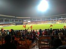 Estádio do grilo de Chinnaswami imagem de stock royalty free