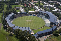 Estádio do grilo dos Wanderers - vista aérea foto de stock