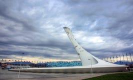 Estádio do punho em Sochi Imagem de Stock