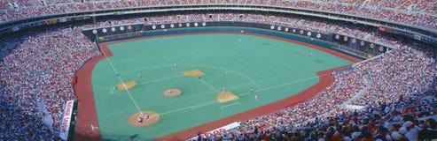 Estádio do veterano, Phyllis v Astros, Philadelphfia, Pensilvânia fotografia de stock