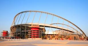 Estádio Doha Qatar de Khalifa imagem de stock royalty free
