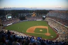 Estádio dos Dodgers - Los Angelas Dodgers Fotografia de Stock