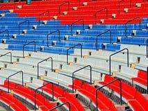 Estádio dos esportes para reuniões nacionais e internacionais Imagens de Stock Royalty Free