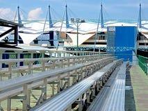 Estádio dos esportes para reuniões nacionais e internacionais Imagem de Stock