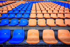 Estádio e assento Fotos de Stock