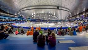Estádio Heerenveen do gelo Fotografia de Stock Royalty Free