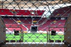 Estádio Locked fotografia de stock