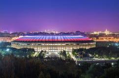 Estádio Luzhniki em Moscou Fotografia de Stock