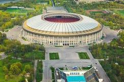 Estádio Luzniki em Moscou, Rússia foto de stock royalty free