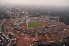 Estádio México 68 da universidade foto de stock