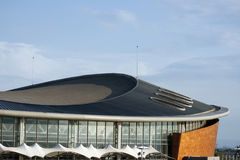 Estádio moderno 5 da arquitetura imagens de stock