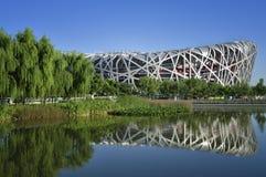 Estádio nacional de China em Beijing imagem de stock royalty free