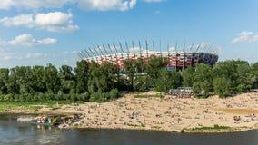 Estádio nacional polonês Imagens de Stock