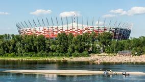 Estádio nacional polonês em Varsóvia Imagens de Stock
