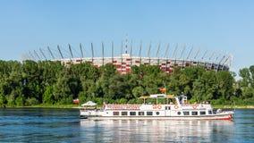 Estádio nacional polonês em Varsóvia Imagem de Stock Royalty Free