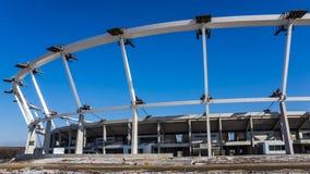 Estádio nacional Silesian sob a reconstrução Imagem de Stock Royalty Free