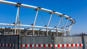 Estádio nacional Silesian sob a reconstrução Fotografia de Stock