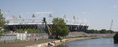 Estádio olímpico 2012 de Londres Fotografia de Stock