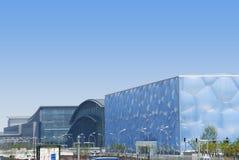 Estádio olímpico de Beijing Foto de Stock Royalty Free