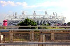 Estádio olímpico de Londres fotos de stock