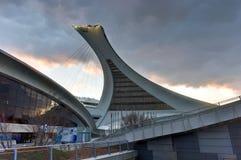 Estádio olímpico de Montreal Imagens de Stock