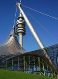 Estádio olímpico de Munich fotografia de stock