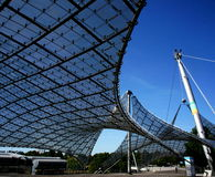 Estádio olímpico de Munich foto de stock