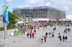 Estádio olímpico dos Aquatics imagem de stock