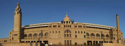 Estádio olímpico em Barcelona Imagem de Stock Royalty Free
